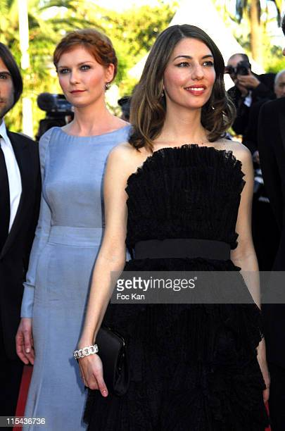 Kirsten Dunst and Sofia Coppola during 2006 Cannes Film Festival 'Marie Antoinette' Premiere at Palais des Festival in Cannes France