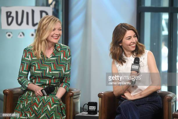 Kirsten Dunst and Sofia Coppola visit build Studios to discuss their new movie The Beguiled at Build Studio on June 21 2017 in New York City