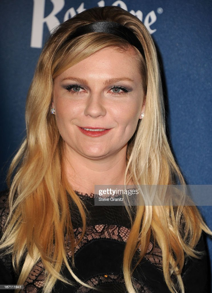 Kirsten Dunst arrives at the 24th Annual GLAAD Media Awards at JW Marriott Los Angeles at L.A. LIVE on April 20, 2013 in Los Angeles, California.