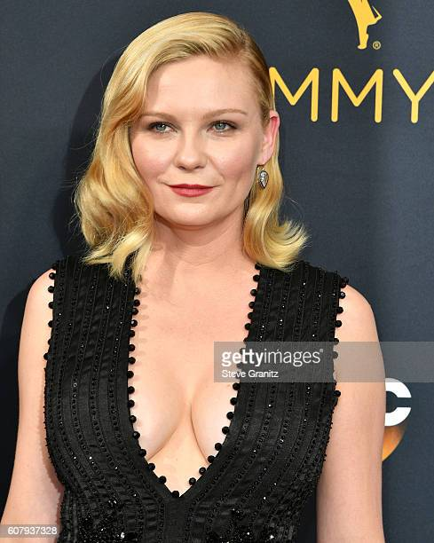 Kirsten Dunst arrives at the 68th Annual Primetime Emmy Awards at Microsoft Theater on September 18 2016 in Los Angeles California