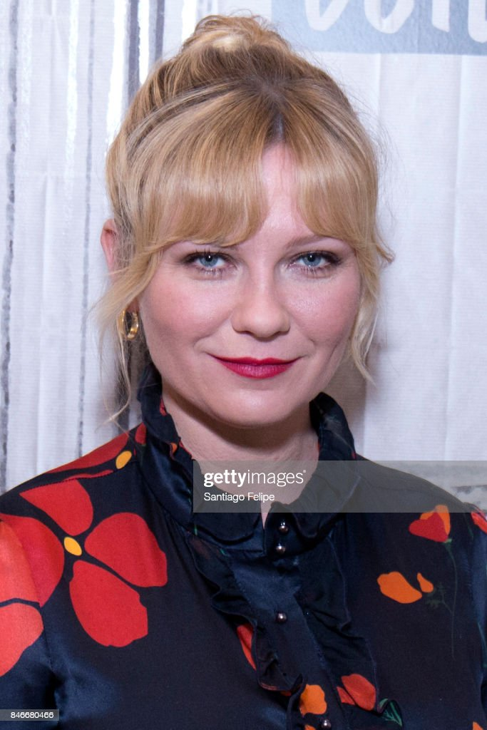 Kirsten Dunst attends Build Presents to discuss 'Woodshock' at Build Studio on September 13, 2017 in New York City.