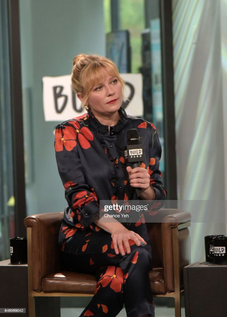 Kirsten Dunst attends Build series to discuss 'Woodshock' at Build Studio on September 13, 2017 in New York City.