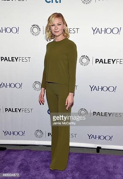 Kirsten Dunst attends PaleyFest New York 2015 'Fargo' at The Paley Center for Media on October 16 2015 in New York City