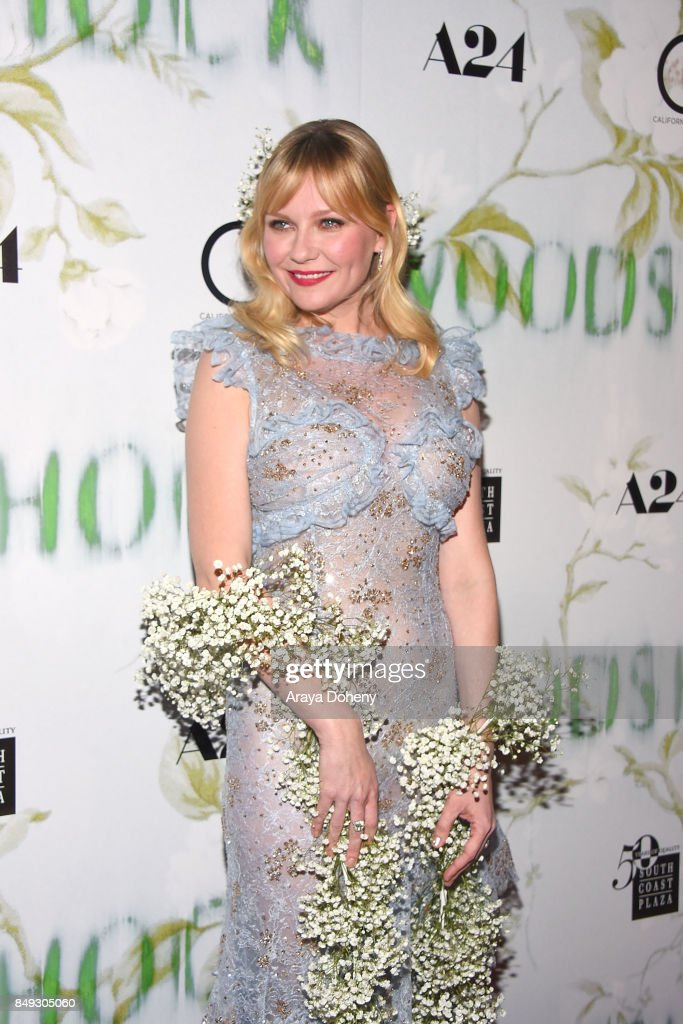 Kirsten Dunst attends premiere Of A24's 'Woodshock' the at ArcLight Cinemas on September 18, 2017 in Hollywood, California.