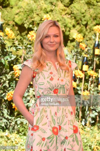 Kirsten Dunst attends the 10th Annual Veuve Clicquot Polo Classic Los Angeles at Will Rogers State Historic Park on October 05 2019 in Pacific...