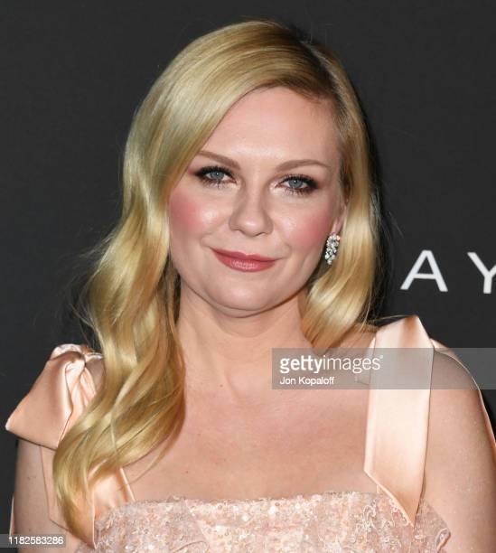 Kirsten Dunst attends the 2019 InStyle Awards at The Getty Center on October 21, 2019 in Los Angeles, California.