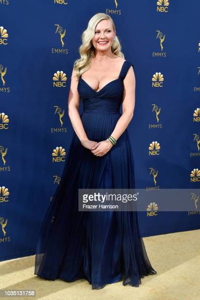 Kirsten Dunst attends the 70th Emmy Awards at Microsoft Theater on September 17 2018 in Los Angeles California