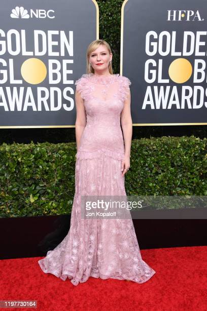 Kirsten Dunst attends the 77th Annual Golden Globe Awards at The Beverly Hilton Hotel on January 05 2020 in Beverly Hills California