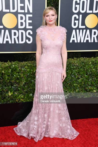 Kirsten Dunst attends the 77th Annual Golden Globe Awards at The Beverly Hilton Hotel on January 05, 2020 in Beverly Hills, California.