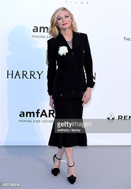 Kirsten Dunst attends the amfAR's 23rd Cinema Against AIDS Gala at Hotel du CapEdenRoc on May 19 2016 in Cap d'Antibes France