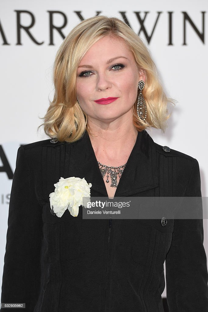 Kirsten Dunst attends the amfAR's 23rd Cinema Against AIDS Gala at Hotel du Cap-Eden-Roc on May 19, 2016 in Cap d'Antibes