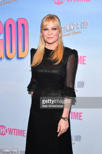 Kirsten Dunst attends the First Look screening at Showtime's Becoming A God In Central Florida at The London Hotel on August 20 2019 in West...