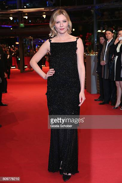 Kirsten Dunst attends the 'Midnight Special' premiere during the 66th Berlinale International Film Festival Berlin at Berlinale Palace on February 12...