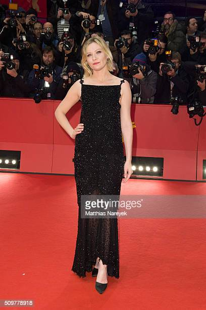 Kirsten Dunst attends the 'Midnight Special' premiere during the 66th Berlinale International Film Festival Berlin at Berlinale Palace on February...
