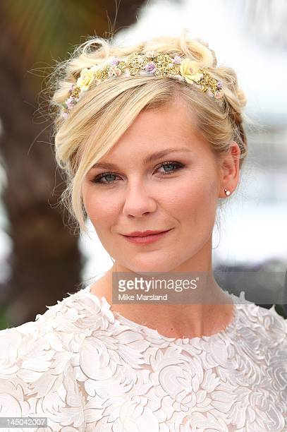 Kirsten Dunst attends the 'On The Road' Photocall during the 65th Annual Cannes Film Festival at Palais des Festivals on May 23 2012 in Cannes France