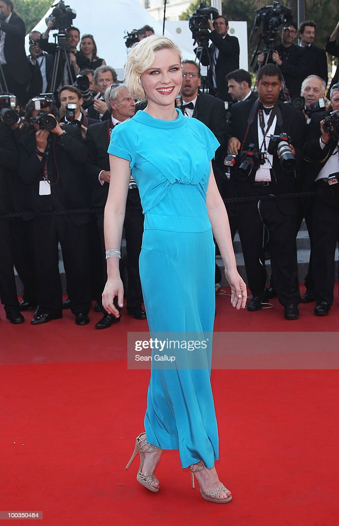 Kirsten Dunst attends the Palme d'Or Award Closing Ceremony held at the Palais des Festivals during the 63rd Annual Cannes Film Festival on May 23, 2010 in Cannes, France.