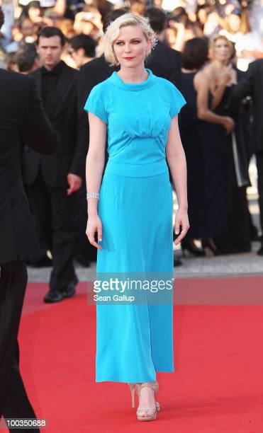 Kirsten Dunst attends the Palme d'Or Award Closing Ceremony held at the Palais des Festivals during the 63rd Annual Cannes Film Festival on May 23...