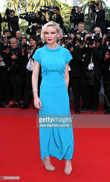 Kirsten Dunst attends the Palme d'Or Closing Ceremony held at the Palais des Festivals during the 63rd Annual International Cannes Film Festival on...