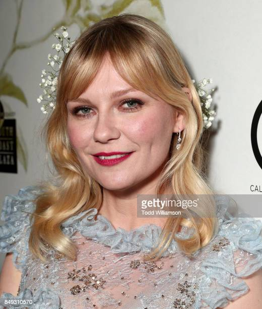Kirsten Dunst attends the premiere Of A24's 'Woodshock' at ArcLight Cinemas on September 18 2017 in Hollywood California
