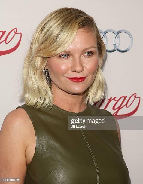 Kirsten Dunst attends the premiere of FX's 'Fargo' Season 2 held at ArcLight Cinemas on October 7 2015 in Hollywood California