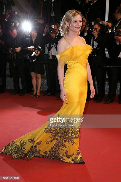 Kirsten Dunst attends the screening of The Neon Demon at the annual 69th Cannes Film Festival at Palais des Festivals on May 20 2016 in Cannes France