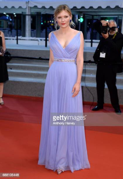 Kirsten Dunst attends the The Beguiled screening during the 70th annual Cannes Film Festival at Palais des Festivals on May 24 2017 in Cannes France