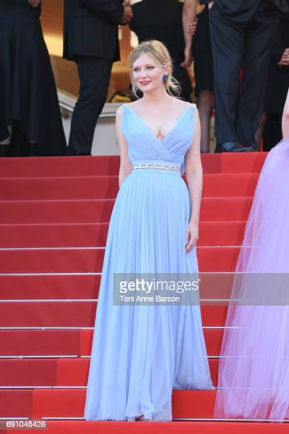 """Kirsten Dunst attends the """"The Beguiled"""" screening during the 70th annual Cannes Film Festival at Palais des Festivals on May 24, 2017 in Cannes,..."""