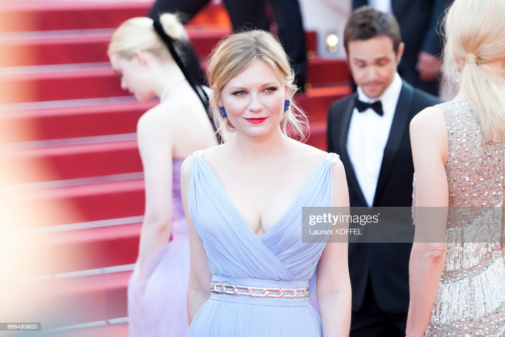 Kirsten Dunst attends the 'The Beguiled' screening during the 70th annual Cannes Film Festival at Palais des Festivals on May 24, 2017 in Cannes, France.