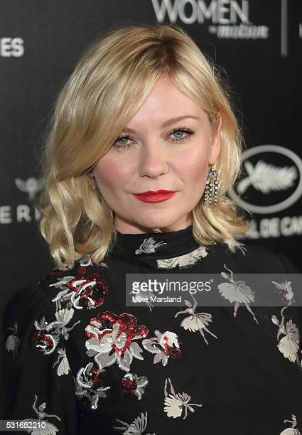 """Kirsten Dunst attends the """"Women in Motion"""" Prize Reception part of The 69th Annual Cannes Film Festival on May 15, 2016 in Cannes, France."""