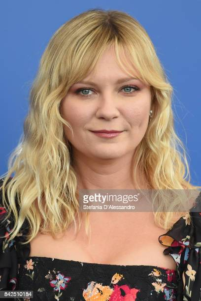 Kirsten Dunst attends the 'Woodshock' photocall during the 74th Venice Film Festival on September 4 2017 in Venice Italy