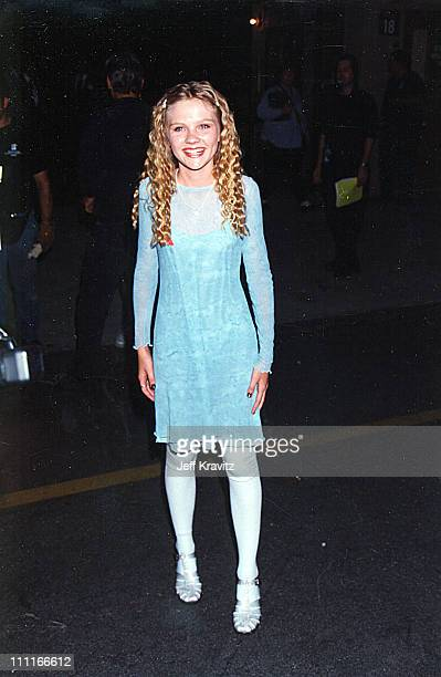 Kirsten Dunst during 1995 MTV Movie Awards in Los Angeles California United States