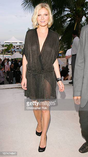 Kirsten Dunst during 2005 MTV Video Music Awards White Carpet at American Airlines Arena in Miami Florida United States