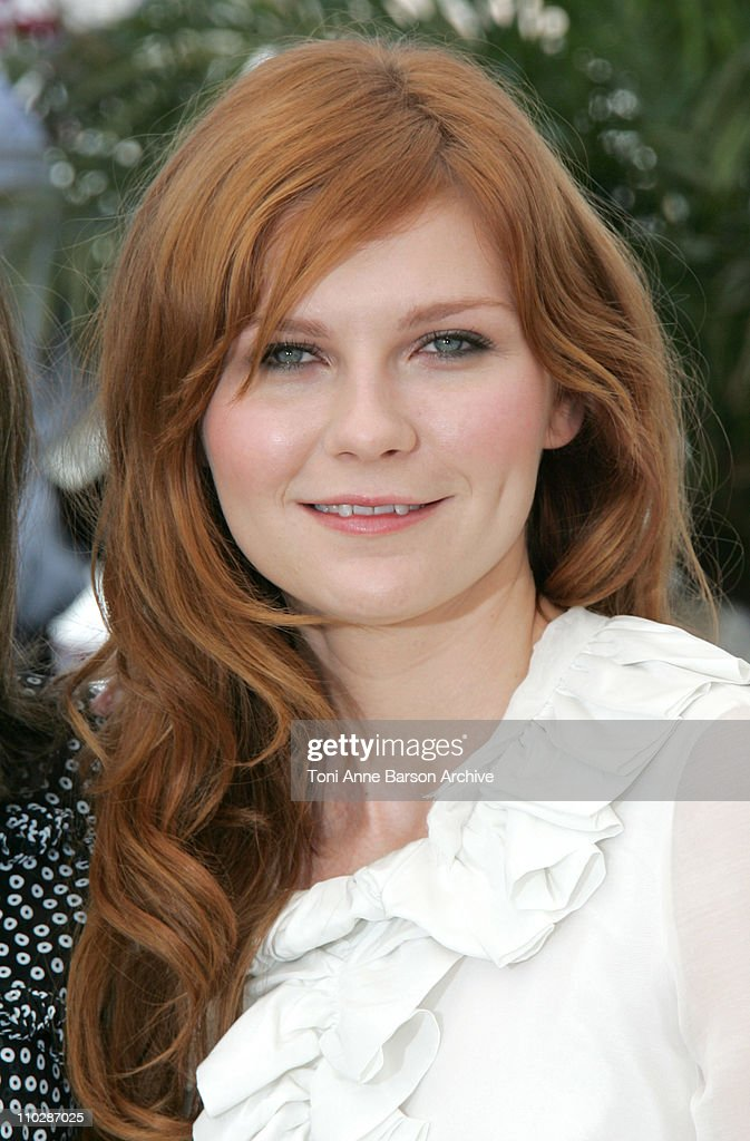 Kirsten Dunst during 2006 Cannes Film Festival - 'Marie Antionette' - Photocall at Palais des Festival in Cannes, France.