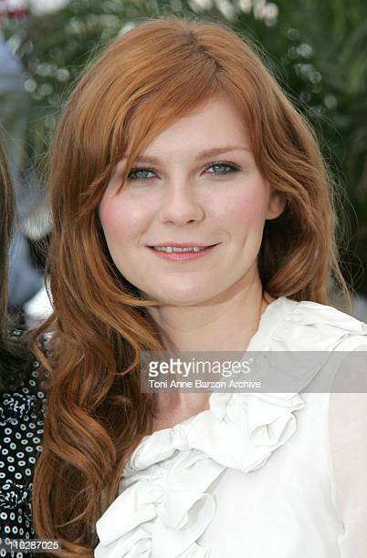 """Kirsten Dunst during 2006 Cannes Film Festival - """"Marie Antionette"""" - Photocall at Palais des Festival in Cannes, France."""