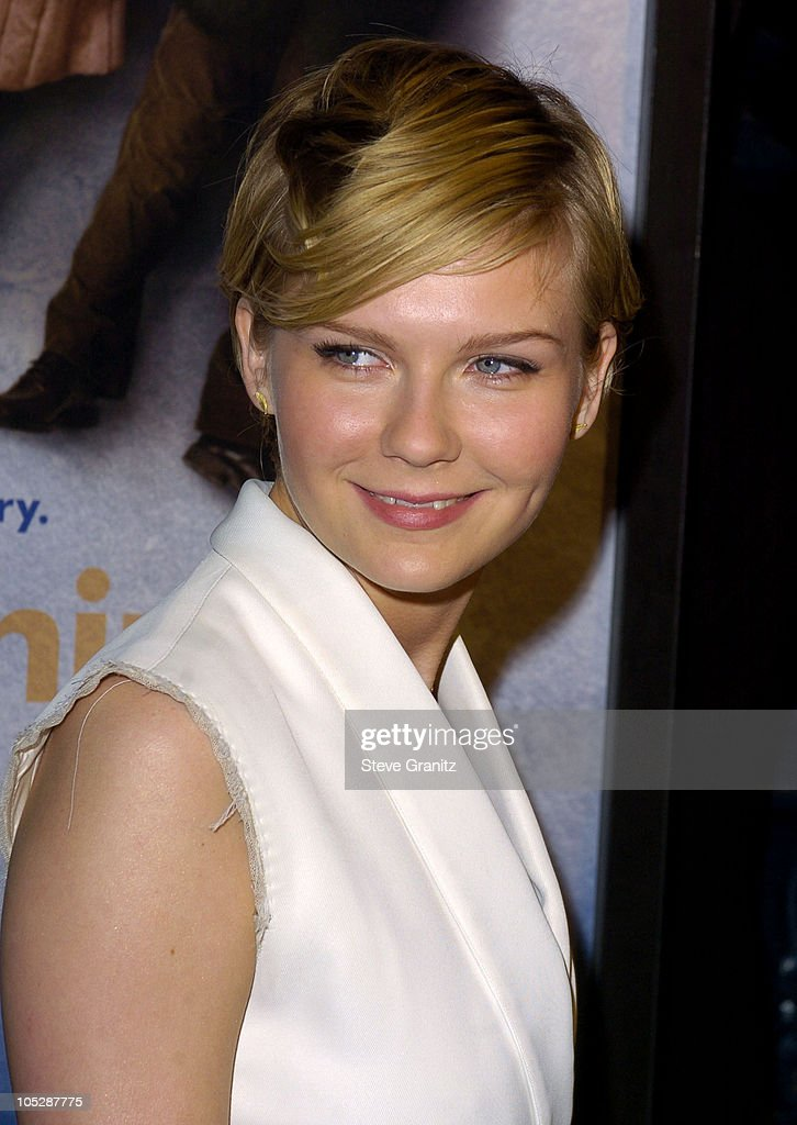 Kirsten Dunst during 'Eternal Sunshine Of The Spotless Mind' - Los Angeles Premiere at Academy Theatre in Beverly Hills, California, United States.