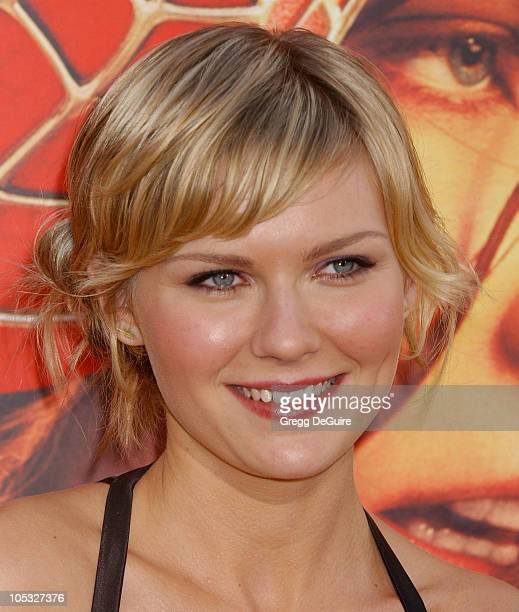 Kirsten Dunst during 'SpiderMan 2' Los Angeles Premiere Arrivals at Mann Village in Westwood California United States