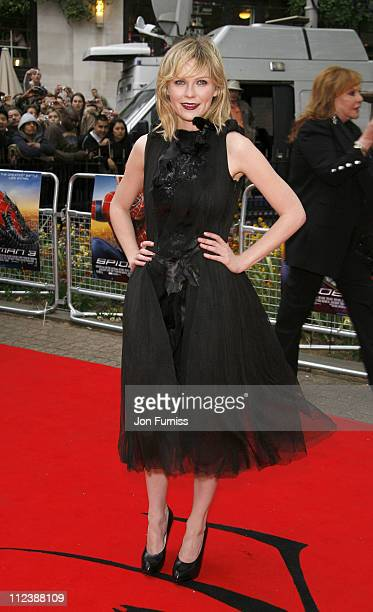 Kirsten Dunst during 'SpiderMan 3' London Premiere Inside Arrivals at Odeon Leicester Square in London United Kingdom