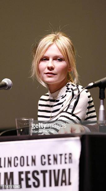 """Kirsten Dunst during The 44th New York Film Festival - """"Marie Antoinette"""" Press Conference at Alice Tully Hall in New York City, New York, United..."""