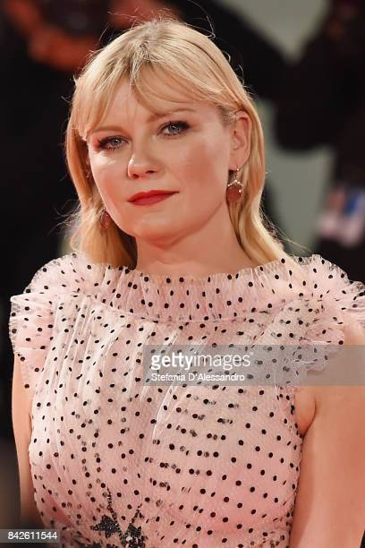 Kirsten Dunst from the movie 'Woodshock' walks the red carpet ahead of the 'Three Billboards Outside Ebbing Missouri' screening during the 74th...
