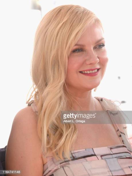 Kirsten Dunst Honored With A Star On The Hollywood Walk Of Fame on August 29 2019 in Hollywood California