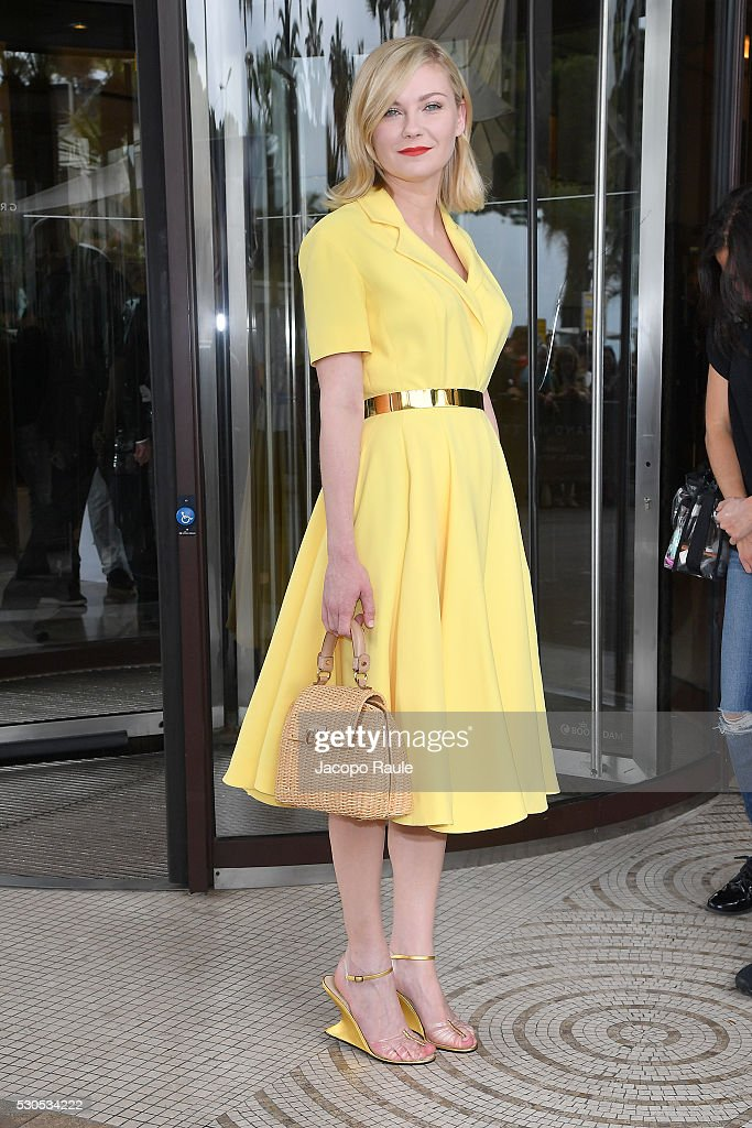 May 11, 2016 - Celebrity Sightings At The 69th Annual Cannes Film Festival