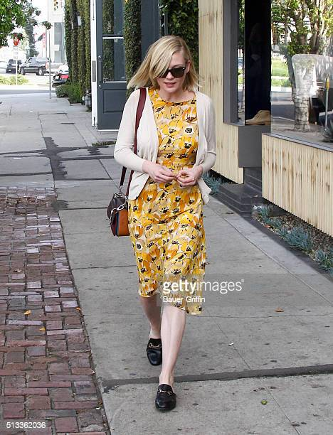 Kirsten Dunst is seen on March 02 2016 in Los Angeles California