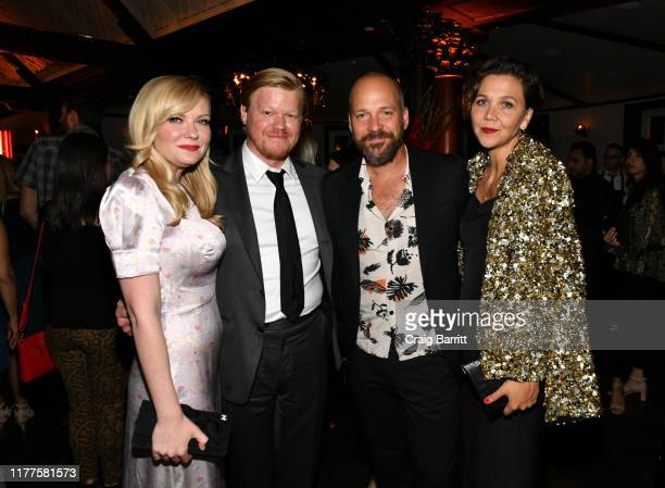 Kirsten Dunst Jesse Plemons Peter Sarsgaard and Maggie Gyllenhaal attend as Campari sponsors Opening Night of the 57th New York Film Festival on...