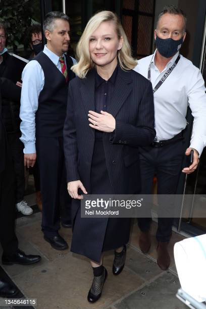 Kirsten Dunst promoting 'The Power of the Dog' at the Ham Yard Hotel for Deadline Contenders Presentation as part of the London Film Festival on...