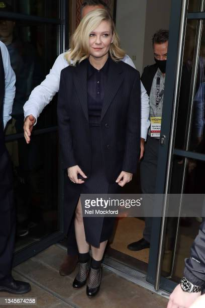 Kirsten Dunst promoting 'The Power of the Dog' at the Ham Yard Hotel for Deadline Contenders Presentation at part of the London Film Festival on...