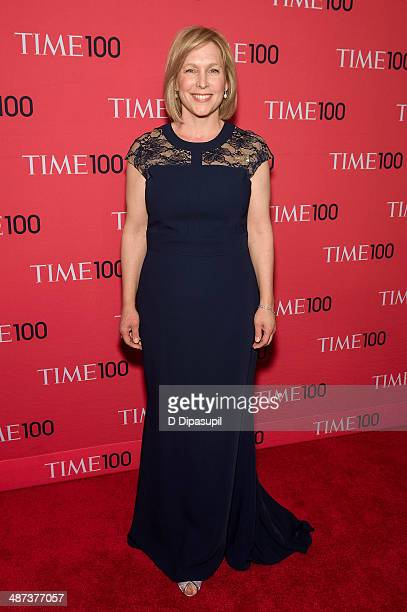 Kirsten Gillibrand attends the 2014 Time 100 Gala at Frederick P Rose Hall Jazz at Lincoln Center on April 29 2014 in New York City
