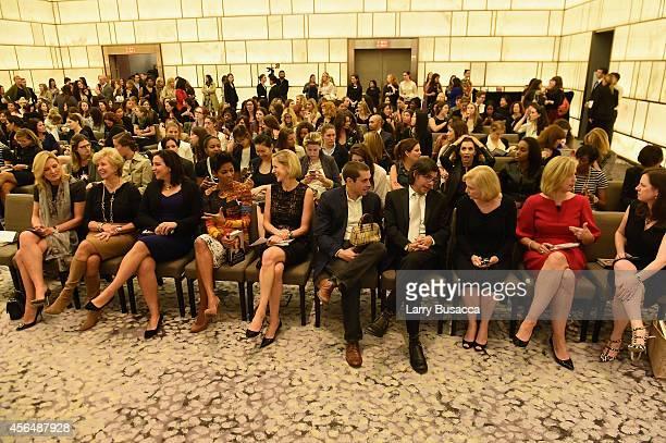 Kirsten Gillibrand, Kristen Anderson-Lopez, Linda McMahon, Kristen Van Ogtrop, Tamron Hall, Charlie Kammerer, Evelyn Webster, Michelle Peranteau and...