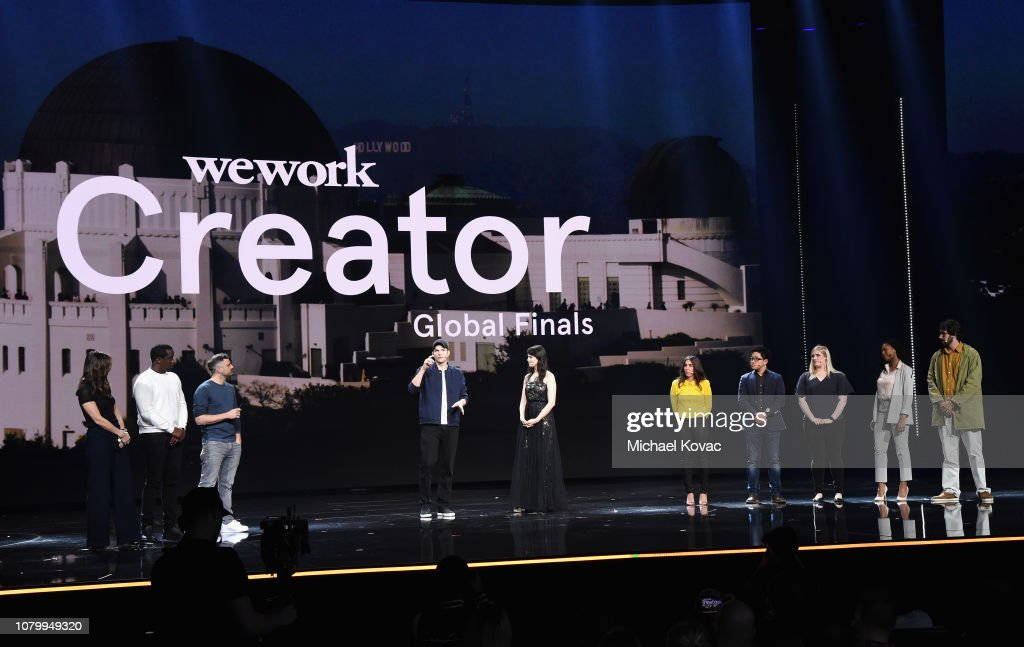 WeWork Presents Second Annual Creator Global Finals At Microsoft Theater : Nieuwsfoto's