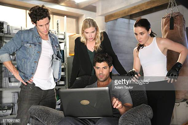 STITCHERS Kirsten meets her match in a highstakes game of cat and mouse on an allnew episode of Stitchers airing on TUESDAY MARCH 29 on Freeform KYLE