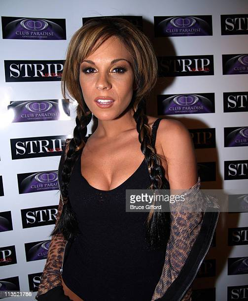 Kirsten Price during March Madness Party Hosted By Kirsten Price at Club Paradise in Las Vegas Nevada United States